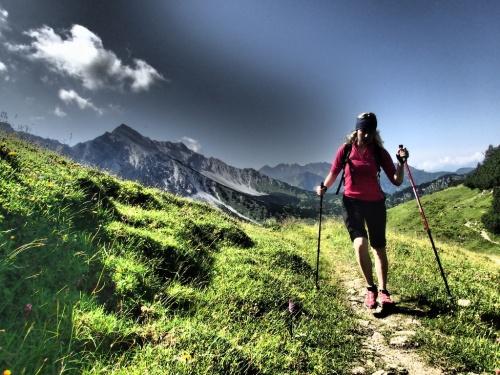 Po pár dnech v Alpách jako doma :-)